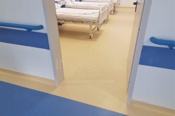Pardoseli antibacteriene si tapet pvc Spital Brasov