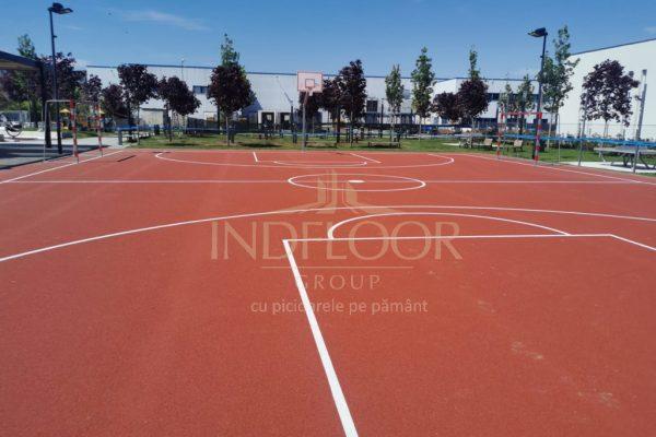 Pardoseala multisport parc Intre Lacuri Cluj Napoca