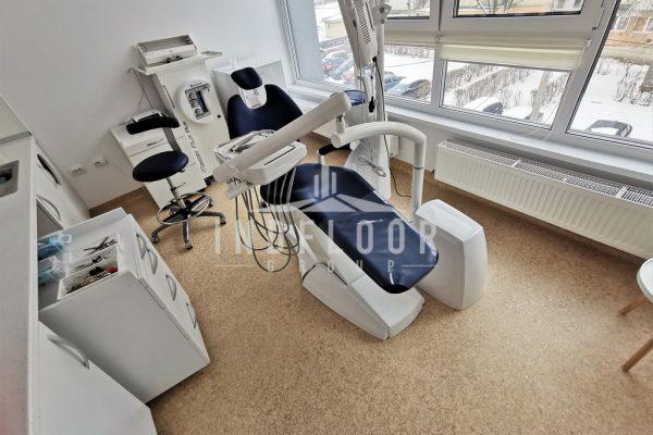 Covor pvc omogen Tarkett pentru cabinet stomatologic